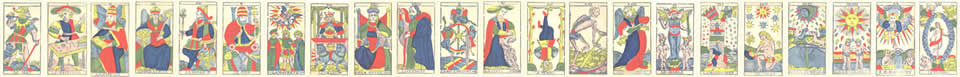 Interprétations et significations des cartes du Tarot de Marseille
